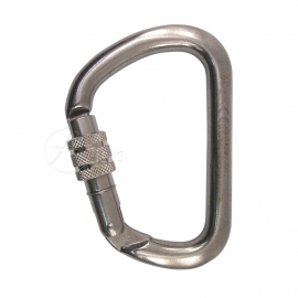 INOX Karabiner X-Large Screw
