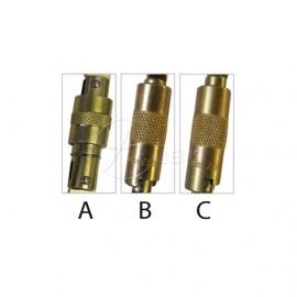 Ovalstahlkarabiner KL321