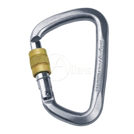 Stahlkarabiner D Screw
