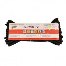 Gummischnur GumiFix - Schwarz