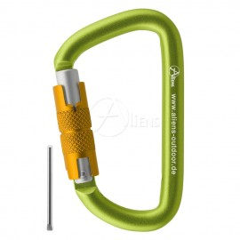 Zubehörkarabiner Accessory D Twistlock