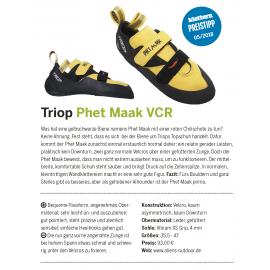 Kletterschuhe Phet Maak Velcro Gelb