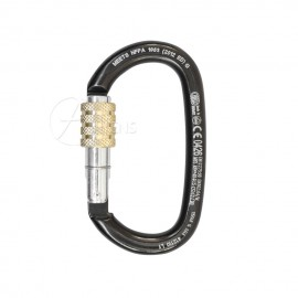 Stahlkarabiner Oval Screw