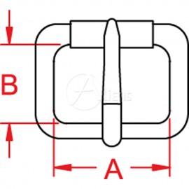 Simple Buckle Roller 186